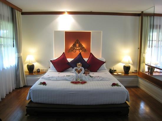 Santiburi Beach Resort & Spa : la chambre