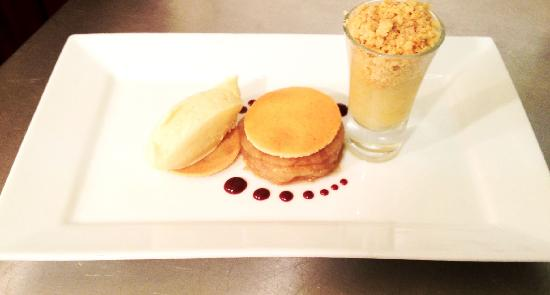 Silverdale Restaurant: Trio of Apple