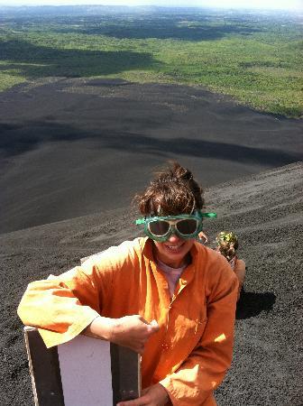 La Perla Hotel: Leon's very own Volcano Boarding