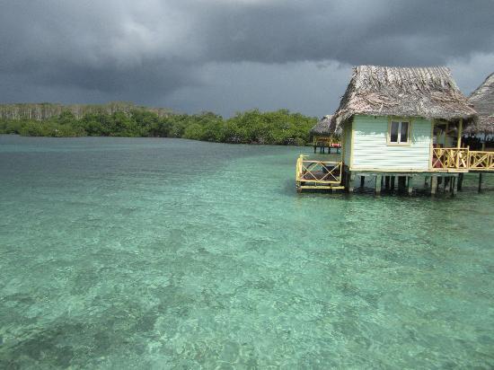 Punta Caracol Acqua Lodge: La réception