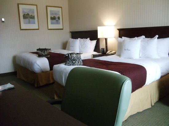 Doubletree by Hilton Hotel Annapolis: so comfy....