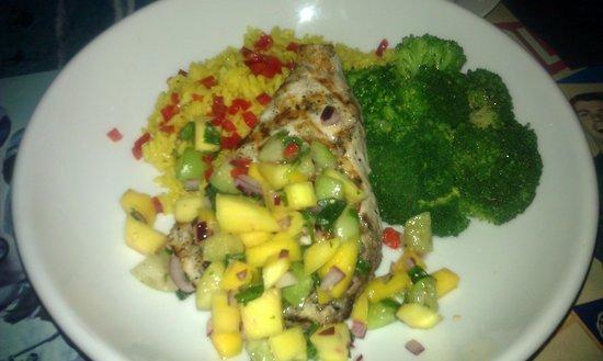 Richwood Grill: Fish dish I think?