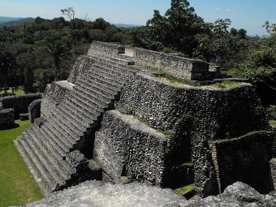Belize Magnificent Mayan Tours: Yes, we climbed all those steps..and then some!
