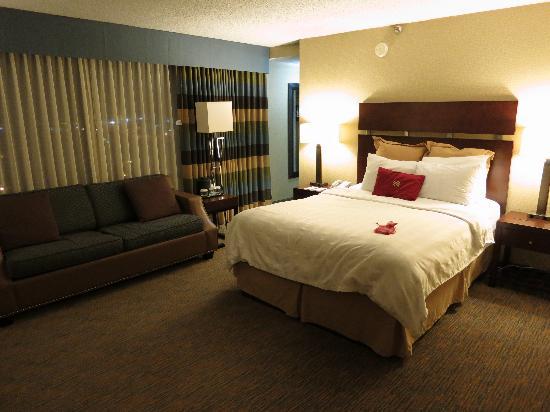 Crowne Plaza Billings: Bed