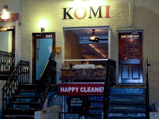 Komi: Le restaurant