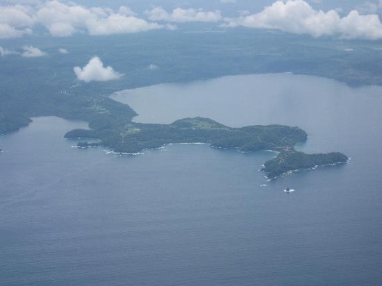 Four Seasons Resort Costa Rica at Peninsula Papagayo: From the plane
