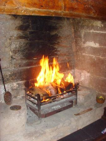 The Old Court House : The amazing fireplace