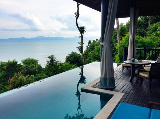 Four Seasons Resort Koh Samui Thailand: view facing north from villa