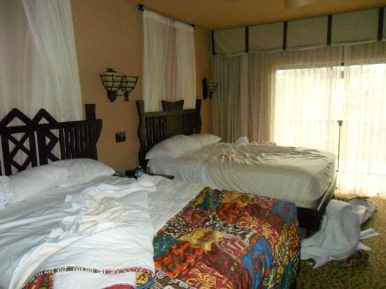 Disney's Animal Kingdom Villas - Kidani Village: 2 queen room