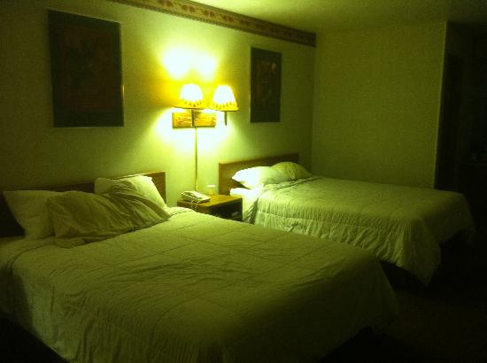 Painted Buffalo Inn: What the beds look like