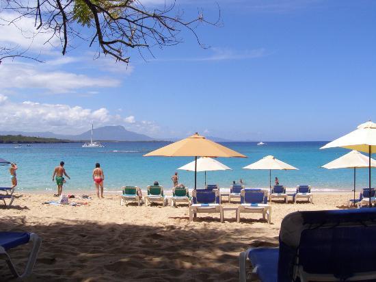 The beach in Sosua
