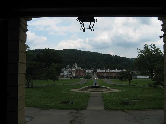 Trans-Allegheny Lunatic Asylum: VIEW FROM THE PORCH