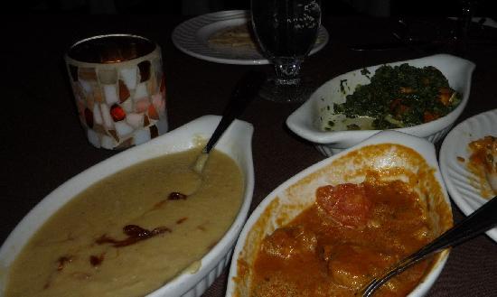 Curry Original: Tarka Dahl, Lamb Madras, Saag Paneer