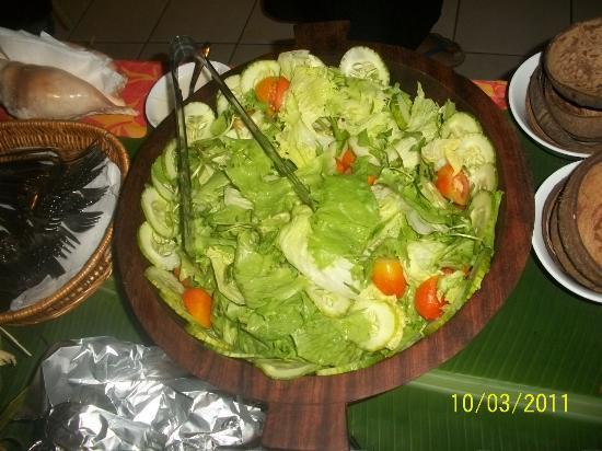 Le Alaimoana Hotel: green salad
