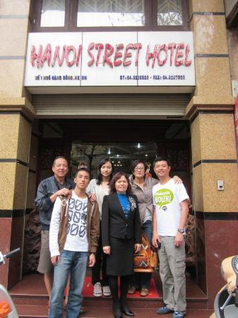 Hanoi Street Hotel: Happy moment