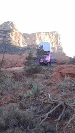 Pink Jeep Tours Sedona: Pink Jeep in Action