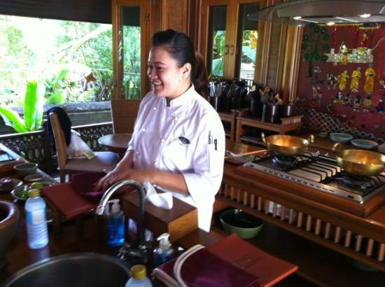 The Dhara Dhevi Chiang Mai: Great cooking class