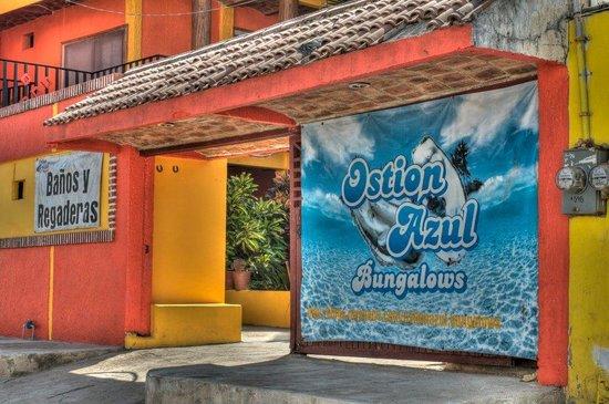 Lo de Marcos, Mexico: The entrance