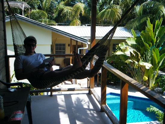 """Caye Caulker: You can""""t beat the pool and the hammocks"""