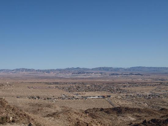 View of Twentynine Palms from 49 Palm Canyon Trail