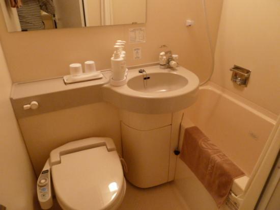 Grace Inn Nagoya : トイレ