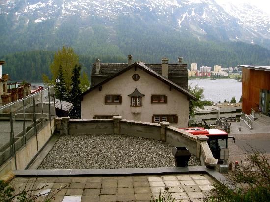 Hauser Hotel St. Moritz: Lake St. Moritz!