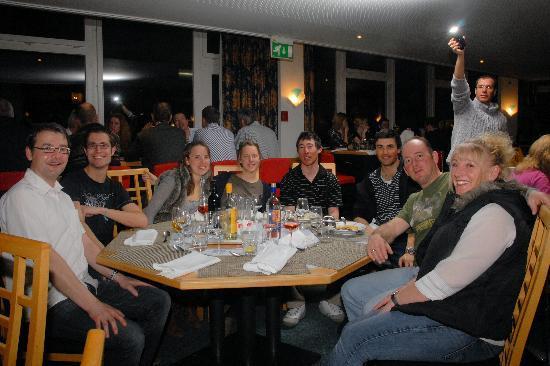 Club Med Saint Moritz Roi Soleil: Dinner hall