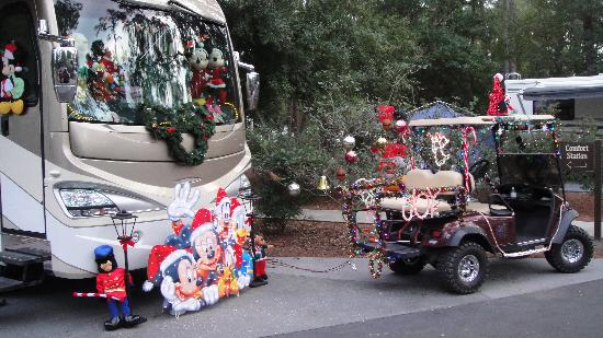 The Campsites at Disney's Fort Wilderness Resort: Our decorated site