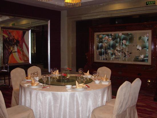 Chenmao Sunshine Hotel: В китайском ресторане отеля