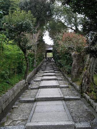Kuil Kodai-ji: 石段