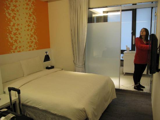 CityInn Hotel Plus - Ximending Branch: Our room 2