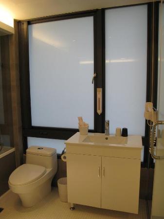 CityInn Hotel Plus - Ximending Branch: Our washroom 1