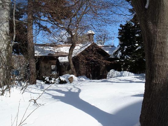 Seikatei : 雪の中の清華亭