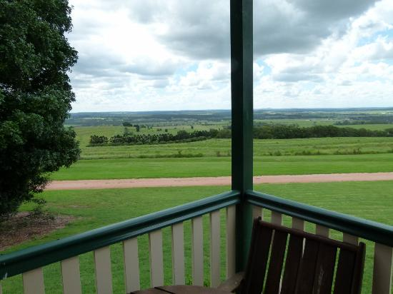 Bethany Cottages: views from both the verandah & inside the cottage, which has lots of glass, were great.