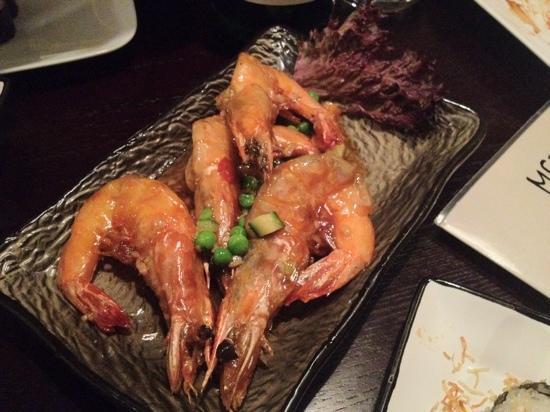 Ristorante Kokusai: gamberi in aglio