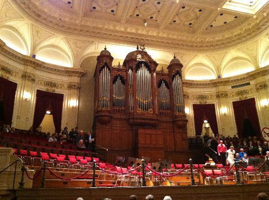 Concertgebouw: De grote zaal