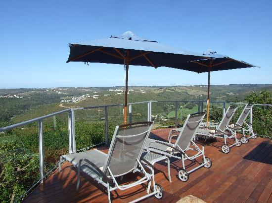 Bosavern Guest House: relax on the eck with the beautiful view