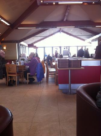 Sandbanks Beach cafe: spotless