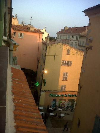Hotel du Portalet : Vue de la terrasse