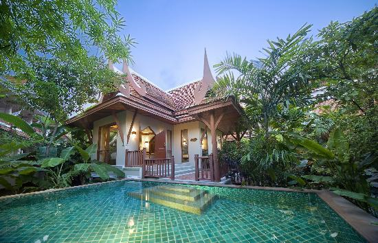 Samui Buri Beach Resort: Pool Villa