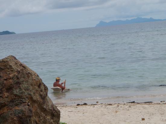 Tadrai Island Resort: The Beach !