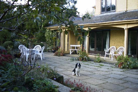 Everdon, UK: Garden Terrace