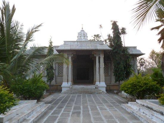 Tamil Nadu, Índia: an der tempelkapelle des kristukulaashrams