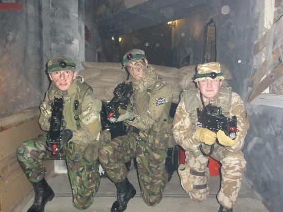 Battlefield Live Dundee: Cadet Force - at Battlefield LIVE