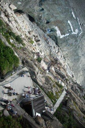 Mont Blanc : caminando hacia las cuevas