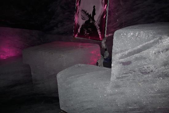 Mont Blanc : puedes sentarte.......