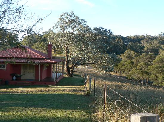 The Pines Pastoral: Possums Cottage Back View