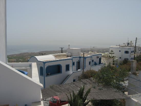 Villa Fotini: Vista dal terrazzo