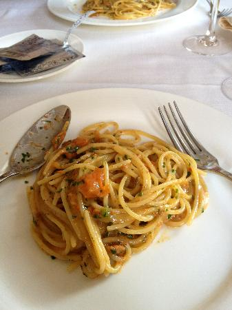 spaghetti con polpa di ricci - Picture of Ristorante Art Nouveau ...