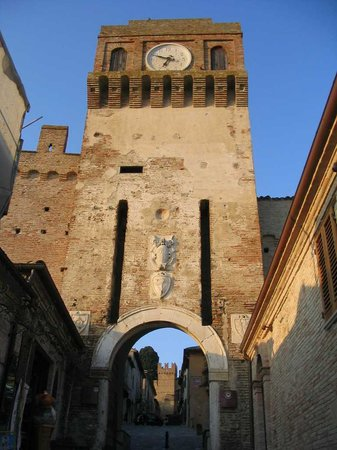 Gradara, Itália: Il castello